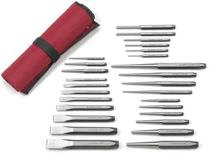 GearWrench 82306 27 Piece Punch and Chisel Set - MPR Tools & Equipment