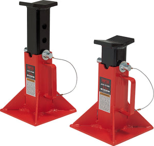 Norco Professional Lifting Equipment 81205i Low Profile 5 Ton Capacity Jack Stands (Imported) (Set of 2) - MPR Tools & Equipment