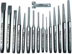 Astro Pneumatic 1600 16-Piece Punch and Chisel Set