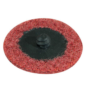 "Gemtex Abrasives 25120903 Medium 86 BritePrep Surface Conditioning. Paper Backing. Nylon. Type R (Roll on). 1"" Width. 2"" Length. Maroon (Pack of 50)"
