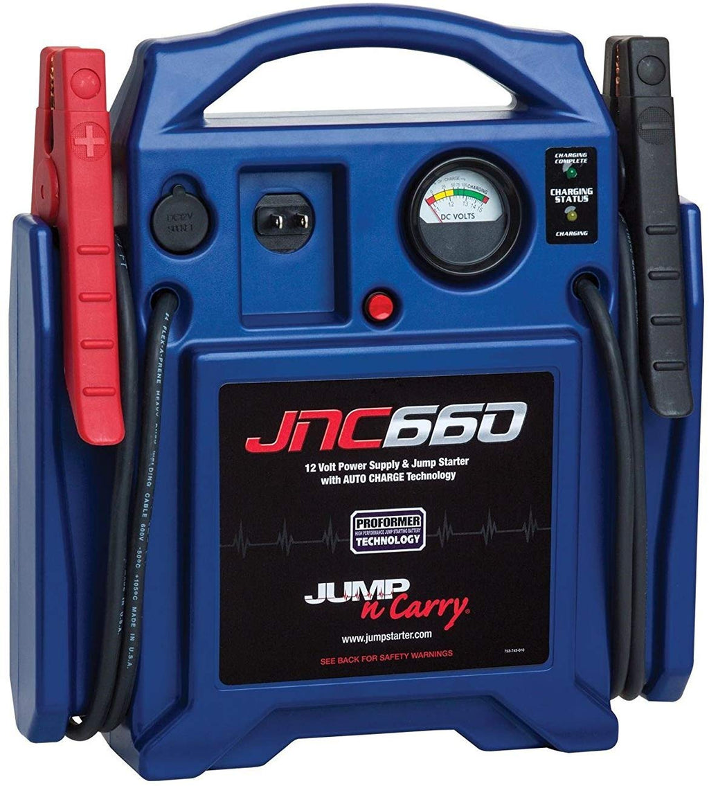 Solar JNC660 Jump-N-Carry 1700 Peak Amp 12-Volt Jump Starter - MPR Tools & Equipment