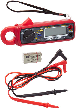 ESI 685 400 Amps DC/AC Current Probe/DMM with Frequency - MPR Tools & Equipment