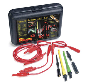 POWER PROBE Lead Set (PPLS01) [Car Diagnostic Test Tool. Self-Centering Piercing Probes. Super Flexible Multi-Strand Wires. Gold Plated Connectors]