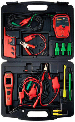 POWER PROBE IV Master Combo Kit - Red (PPKIT04) Includes Power Probe IV with PPECT3000 and Accessories - MPR Tools & Equipment