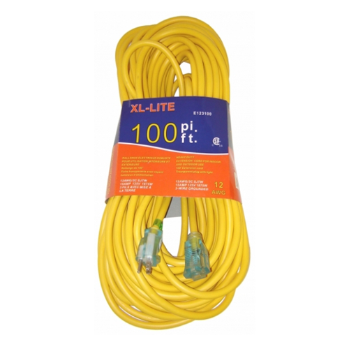 Rodac RDE123100 Extension Cords 12 Gauge X 100