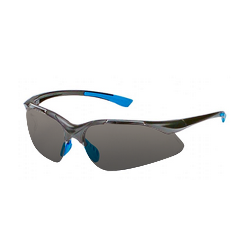 Ho Safety P9006C-BB Safety Glasses - Smoke