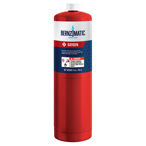 Bernzomatic BZOX9 1.4 Oz Oxygen Fuel