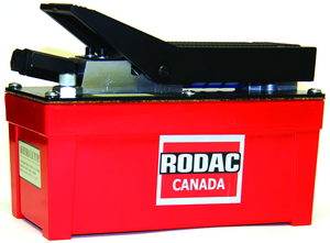 "Rodac RD0100-4-2 Hyd Treadle Pump 91.5""10000Psi - MPR Tools & Equipment"