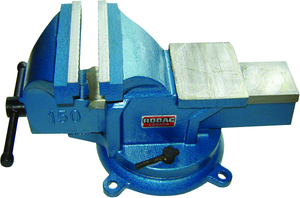 "Rodac RDBV6S Bench Vise W/Swivel Base 6"" - MPR Tools & Equipment"