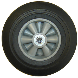 "Rodac RDRW8 Rubber Wheel 8"" - MPR Tools & Equipment"