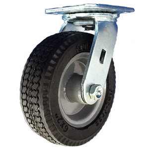 "Rodac RDSCP10 10"" Swivel Pneumatic Wheel"