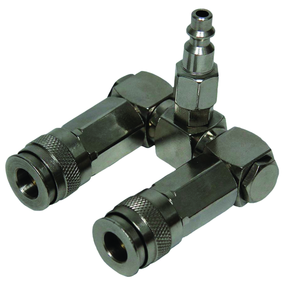 Rodac RDXL10567 2 Way Swivel Splitter - MPR Tools & Equipment