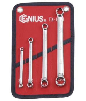 Genius GNSTXE04 4 Pces E-Star Wrench