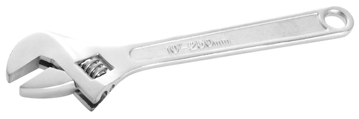 Performance Tools PTW10C Adjustable Wrench 10 In.