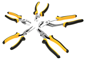 Performance Tools PTW1717 5 Pc Pliers Set