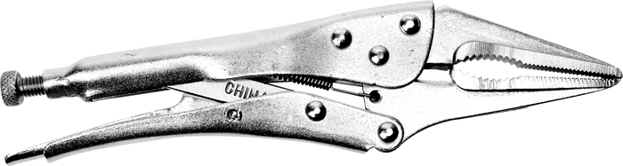 Performance Tools PTW30760 Long Nose Pliers Lockg. 9""