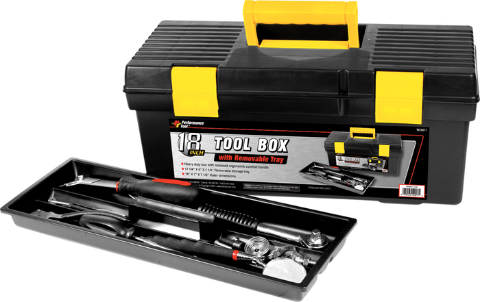 Performance Tools PTW54017 Toolbox 18""