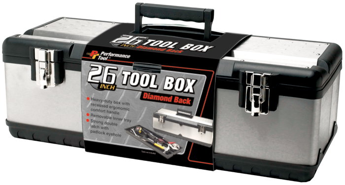 Performance Tools PTW54026 26In. Toolbox 5/5