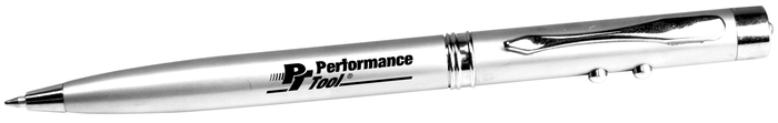 Performance Tools PTW9168 3-In-1 Laser Pointer Pen