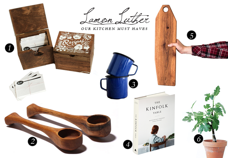 OUR KITCHEN MUST-HAVES | Lamon Luther