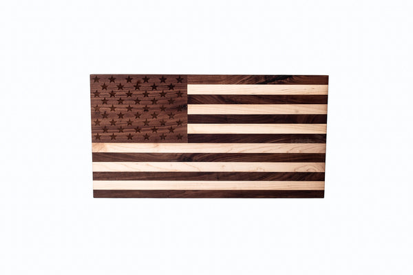 Handcrafted American Flag Cutting Board