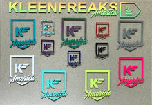 Load image into Gallery viewer, Kleen Freaks America Large Shield Decal