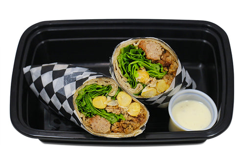 Turkey & Chickpea Ranch Power Wrap-Premium Meals