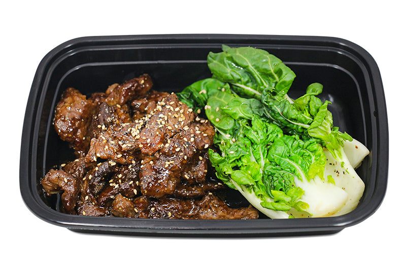 Korean Style Beef With Bok Choy