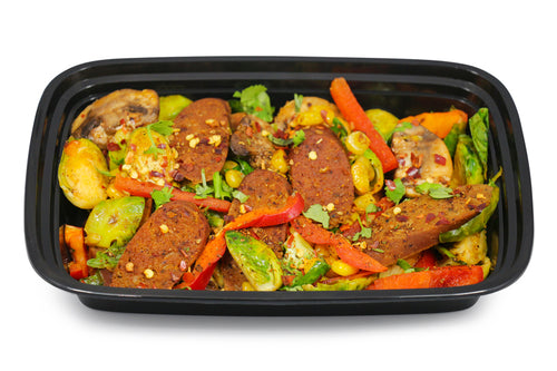 Chipotle Vegan Sausage Veggie Mix