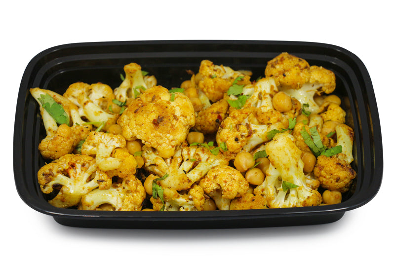 Curried Cauliflower & Chickpeas