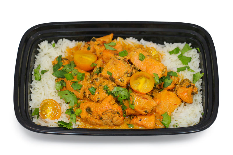 Better Butter Chicken on White Jasmine Rice