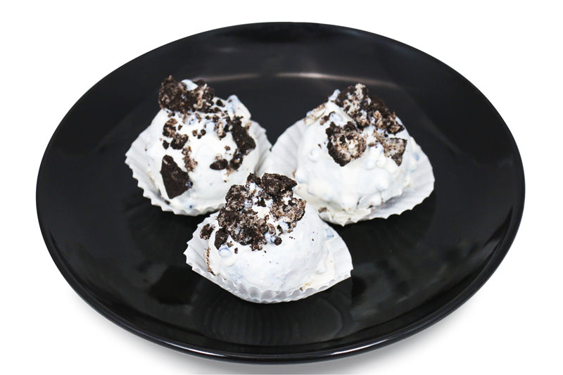 Oreo Cookie & Cream Cake Bites
