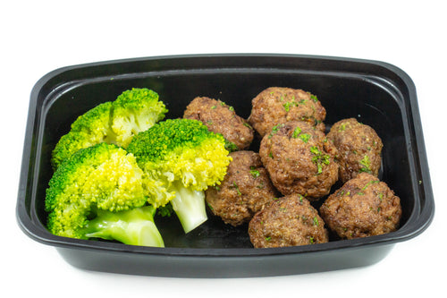 Meatballs & Broccoli-Premium Meals