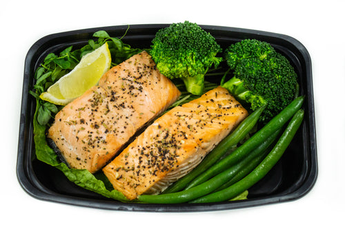 Lemon & Herb Salmon With Vegetables-Premium Meals