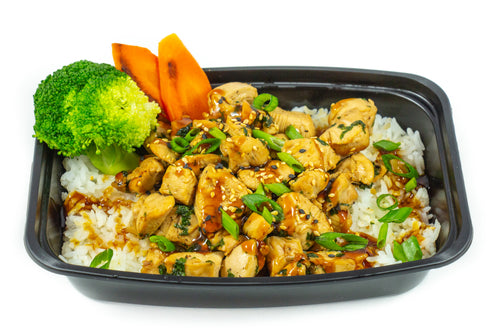 Chicken Teriyaki On Jasmine Rice-Premium Meals