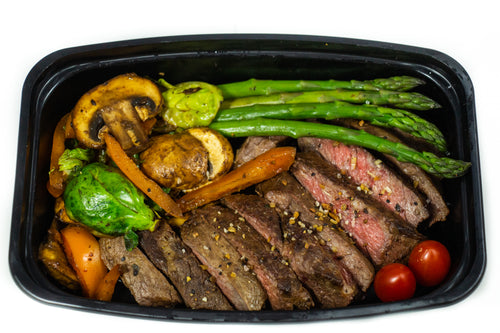 Steak & Vegetables-Premium Meals