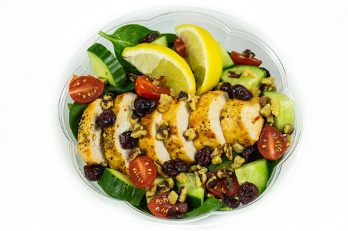 Roasted Chicken Breast Garlic Herb Salad-Premium Meals