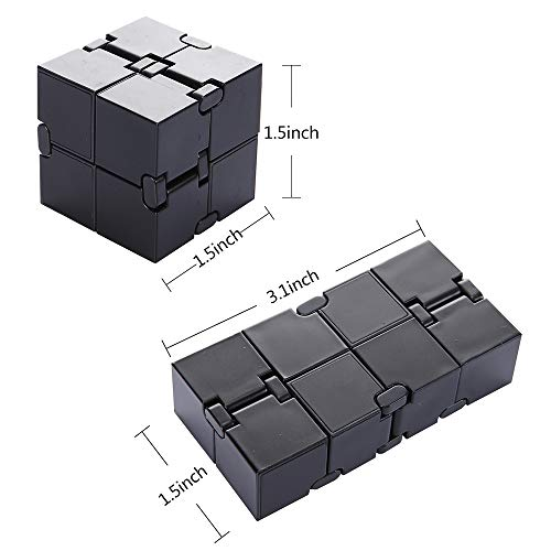 Infinity Cube Fidget Toy, Luxury EDC Fidgeting Game for Kids and Adults