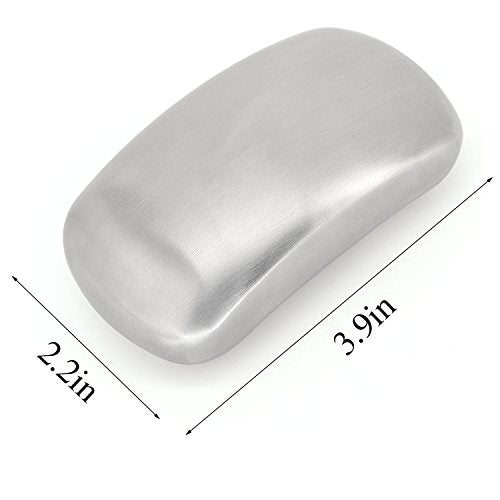 Hoople Stainless Steel Soap Bar Hand Wash Kitchen