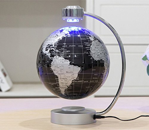 Floating Globe, Office Desk Display Magnetic Levitating and Rotating Planet Earth Globe
