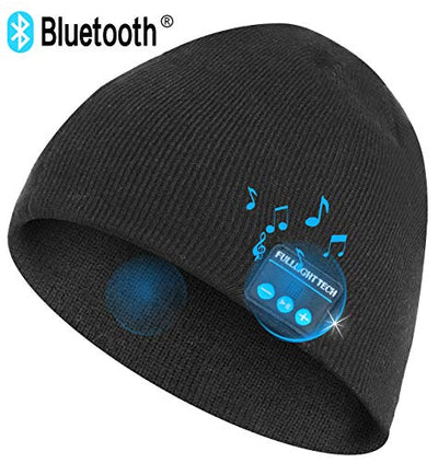 Upgraded V4.2 Bluetooth Beanie Hat Headphones Wireless Headset