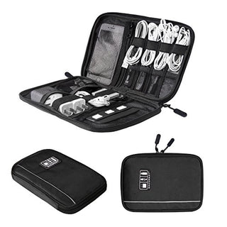 BAGSMART Electronic Organizer Travel Universal Cable Organizer