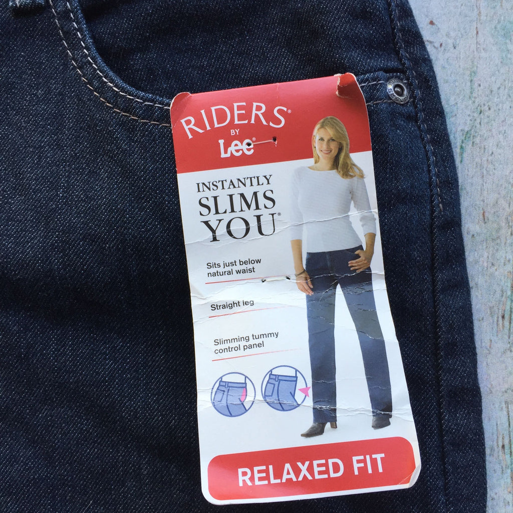 NWT - Relaxed Fit Stretch Jeans Riders by Lee- Size 16-Jean Pool