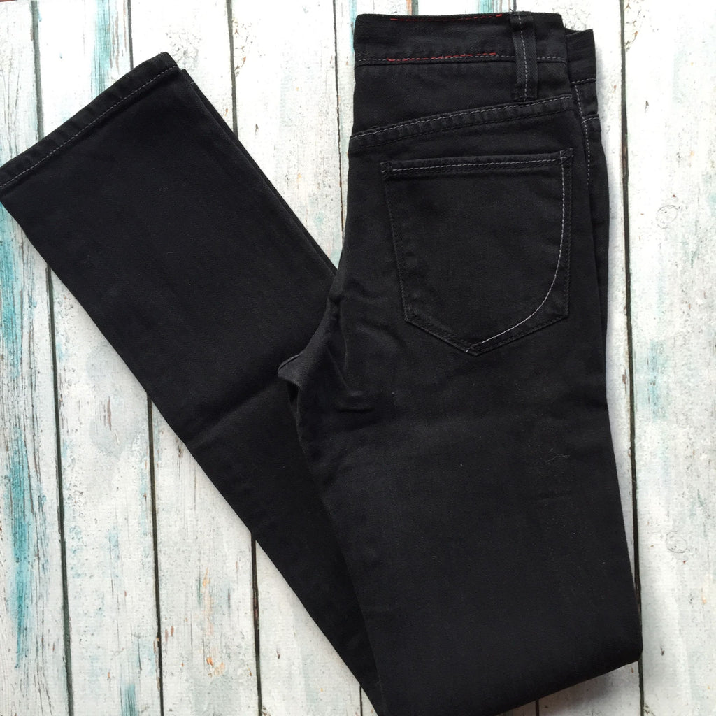 NEW - Paper Denim & Cloth 'Sienna' Black Jeans RRP $265 -Size 24-Jean Pool