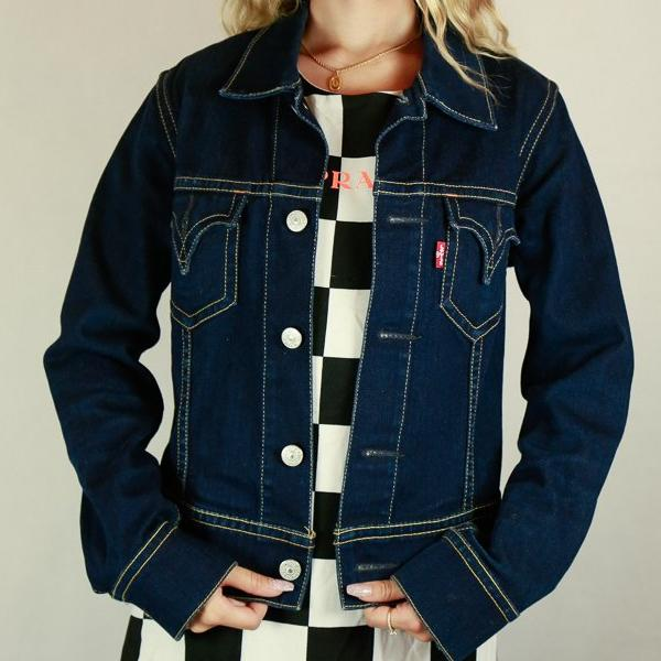 Levis Classic Type 1 Ladies Denim Jacket - Size M