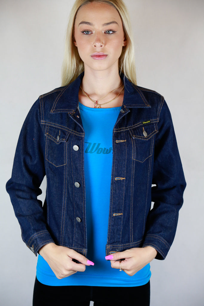 Denim Jean Jacket by Wrangler - Size S