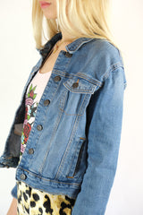 Old Navy Kids Denim Jean Jacket - Size 14