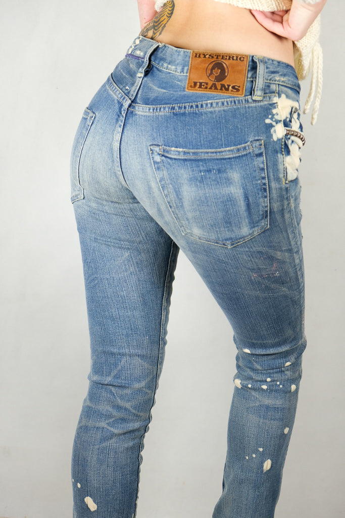 RARE HTF Japanese Hysteric Glamour Stretch Jeans -Size S