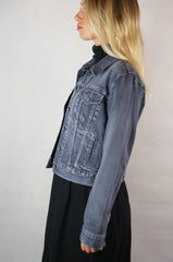 Levis Classic Blue Wash Ladies Denim Jacket - Size M