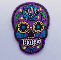 Sugar Skulls- Embroidered Patch